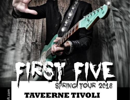 14-04-2018 Dudley Taft (US) live in Taveerne Tivoli Raalte