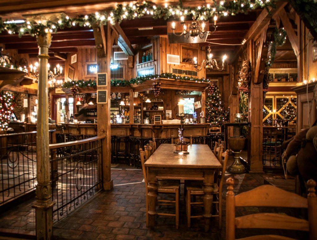 Kerst interieur Restaurant taveerne tivoli raalte